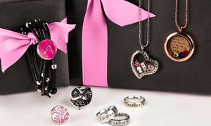 Personalized Jewelry From Stamp The Moment (up To 61% Off). Two Options Available.