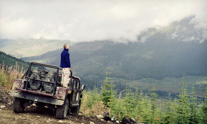 Elkhorn Adventure Tours - Hayden: Half-Day Off-Road Jeep Tour for Two or Four from Elkhorn Adventure Tours (Up to 67% Off)
