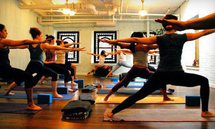 Yogamaya Yoga Studio - Chelsea: Five Yoga Classes or One Month of Unlimited Classes at Yogamaya Yoga Studio (Up to 56% Off)