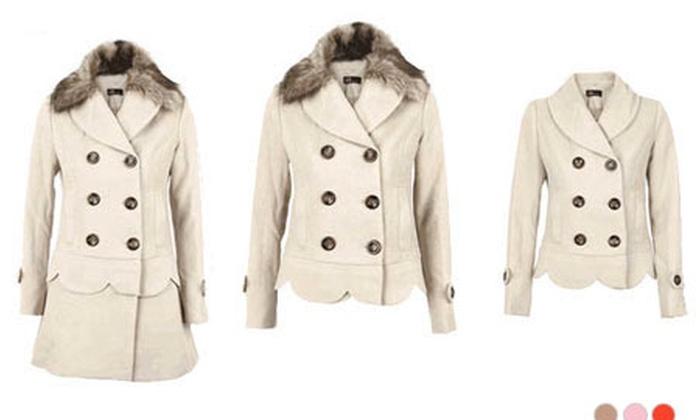 Manteau 3 en 1 pour femme