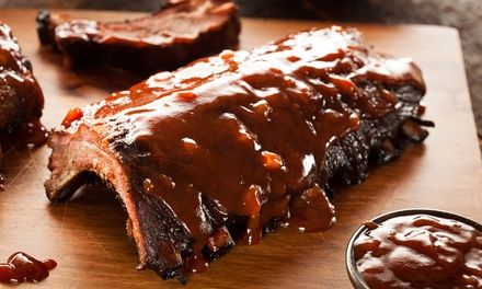 Barbecue Meals for Two or Four, with Appetizers and Rib Slab Combos at Smokin' Joe's BBQ (Up to 48% Off)