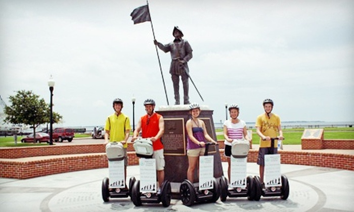 Emerald Coast Tours - Downtown: History-Based, Two-Hour Segway Tour of Pensacola for One or Two from Emerald Coast Tours (Up to 54% Off)