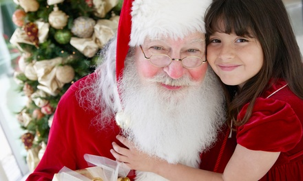 Photos with Santa for Up to 4 With 10 Prints or Choice Between 19 Prints or CD (Up to 54% Off)