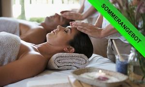 """Day Spa Wohlerfühlen am Altmarkt: 105 Min. Rasulzeremonie und Massage """"Romeo und Julia"""" für Zwei im Day Spa Wohlerfühlen am Altmarkt (39% sparen*)"""