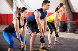 The CrossFit Squad: One Month of Unlimited Boot Camp, or 10 Drop-In Boot-Camp Classes at The CrossFit Squad (Up to 57% Off)