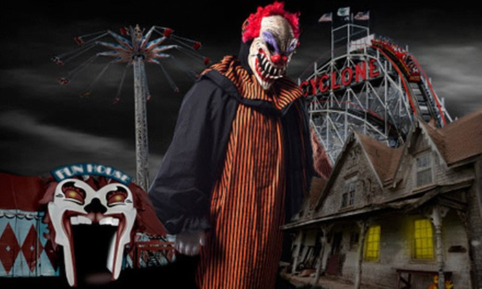 Luna Park - Coney Island Luna Park: Halloween Horror Night for One or Two to at Luna Park (Up to 52% Off)