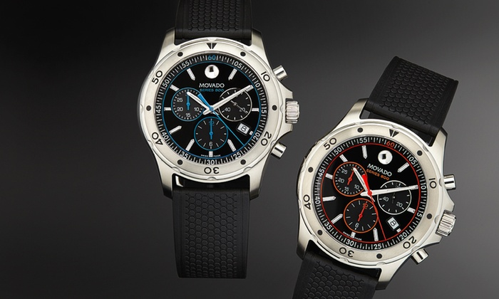 Movado: $850 for a Movado Series 800 Men's Chronograph Watch ($950 List Price). Multiple Colors. Free Shipping & Returns.