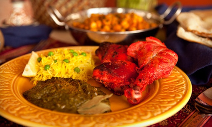Taj Mahal Restaurant - Columbia, MO - Downtown Columbia: Buffet Lunch or Indian Dinner for Two at Taj Mahal Restaurant (Up to 56% Off)