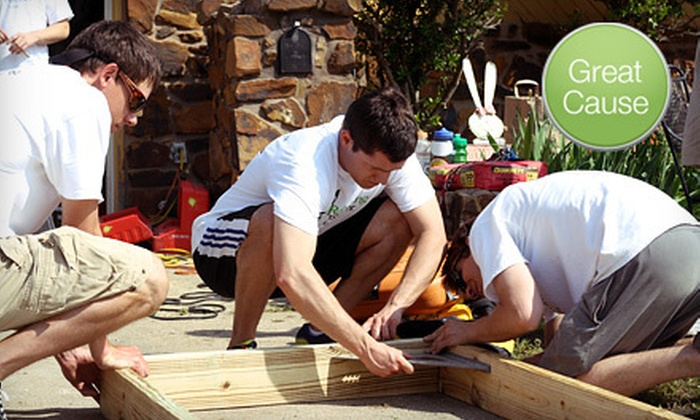 Rebuilding Together Tulsa - Tulsa: If 60 People Donate $10, Then Rebuilding Together Tulsa Can Build a Wheelchair Ramp for a Low-Income Senior