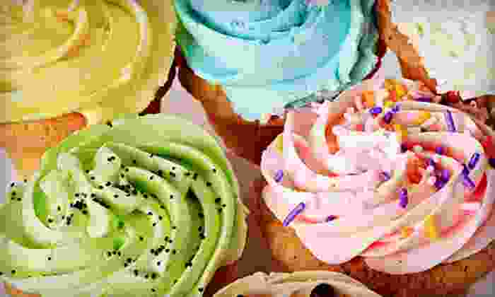 Sweets By Shantell - Sixty Point One Ward Civic Club: One, Two, or Five Dozen Standard Cupcakes from Sweets By Shantell (Up to 54% Off)