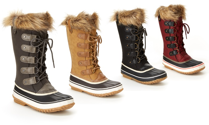 1c3f08360 JBU by Jambu Edith Women's Weather Boots (Sizes 8, 8.5, 9) | Groupon