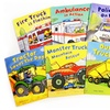 $13.99 for a Busy Wheels Children's 8-Book Bundle