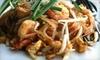 Chaba Thai Cuisine & Sushi - Scarborough: $20 for $40 Worth of Thai Food and Sushi at Chaba Thai Cuisine & Sushi