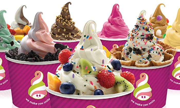 Menchie's Frozen Yogurt - Aventura: Frozen Yogurt at Menchie's Frozen Yogurt. Two Options Available.