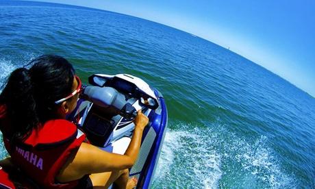 Excursión de hasta 2 horas en una moto de agua para 1 o 2 personas desde 59 € en Seawave