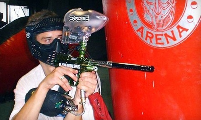 Island Paintball - Wyandanch: All-Day Paintball Outing with Gear for One or Two at Island Paintball in West Babylon (Up to 56% Off)