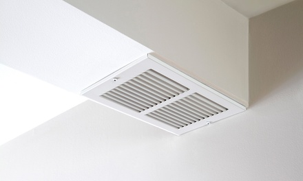 Air-Duct-Cleaning Package with Optional Dryer-Vent Cleaning from Clear Blue Window Cleaners (Up to 80% Off)