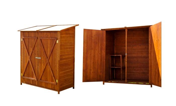 Casette per attrezzi da giardino groupon goods - Casette porta attrezzi da giardino ...