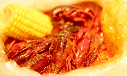 Cajun Cuisine and Seafood at Cajun House (50% Off). Two Options Available.