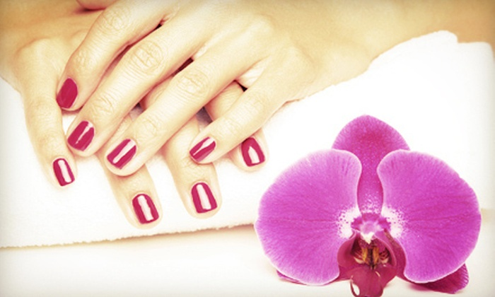 Celina's Nail Spa - Bristle + Grace: One or Three Shellac Manicures at Celina's Nail Spa (Up to 61% Off)