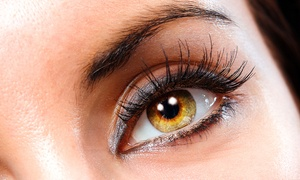 A Touch Of Spa: Flirty Eyelash Extensions with Optional Mini Facial and Touch-Up at A Touch Of Spa (Up to 72% Off)