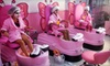 Mommy & Me Salon - Hialeah Boulevard Plaza: Kids' Mani-Pedi, Facial, and Makeup, or Spa Party for Up to 10 Girls at Mommy & Me Salon (Up to 54% Off)