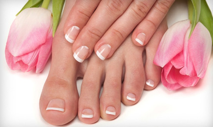 Pure Aesthetics By Izabela - Eatonville: Spa-Style Mani-Pedi or Shellac Manicure and Spa-Style Pedicure at Pure Aesthetics By Izabela (Up to 67% Off)