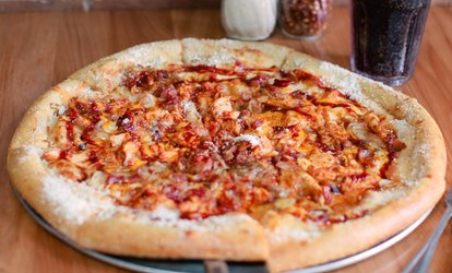 Pizza, Hoagies, and Salads at Mellow Mushroom Spartanburg (Up to 56% Off). Three Options Available.