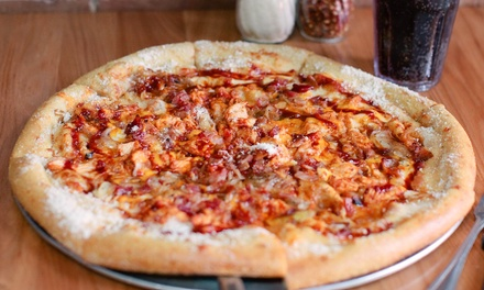 Pizza, Hoagies, and Salads at Mellow Mushroom Spartanburg (Up to 54% Off). Three Options Available.