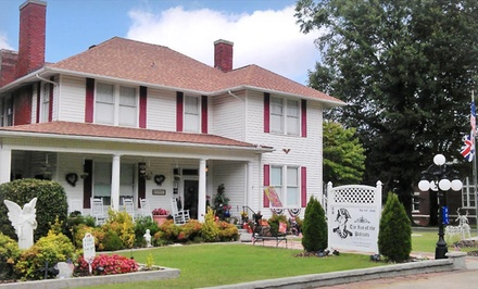 groupon daily deal - 1- or 2-Night Stay with Breakfast and Optional Cooking Demo/Wine Tour at The Inn of the Patriots in Cleveland County, NC