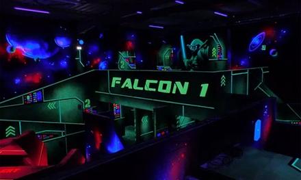 1 session de 20 minutes de laser game sans gilet pour 4, 6 ou 8 personnes dès 18 € chez Star Laser Game 3D à Genas