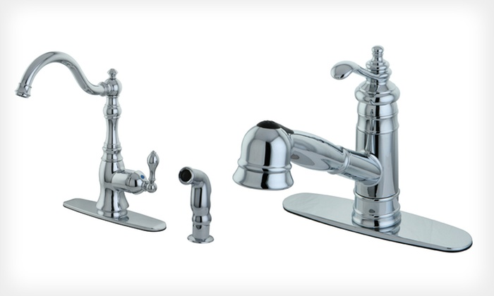 VintageStyle Kitchen Faucets Groupon Goods