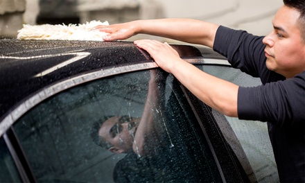 Three Basic Car Washes for a Car or Small Truck, or Large Truck or SUV at H2O Hand Car Wash (Up to 52% Off)