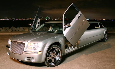 $219 for Three-Hours of Limo Service for Up to 10 from Elite Image Limousines ($370 Value)