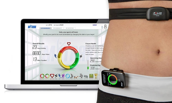 The Biggest Loser Personal Fitness Monitor: The Biggest Loser Slimcoach and Polar Heart-Rate Monitor