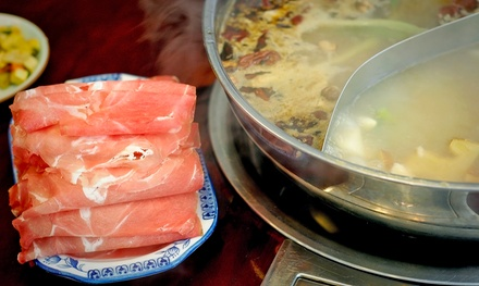 Hotpot Dinner for 2 or 4 at Mr. Pot (Up to 50% Off)
