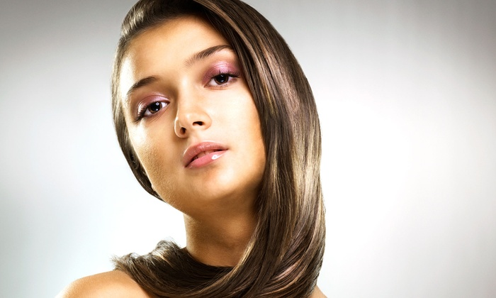 Unique Look Hair Design - Hudson Bay Industrial: Haircut Package with Shine Treatment and Optional Colour or Highlights at Unique Look Hair Design (Up to 65% Off)