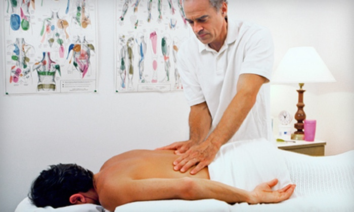 Upper Hand Chiropractic - Syracuse: Chiropractic Package with Deep-Tissue Massage and One or Two Adjustments at Upper Hand Chiropractic (Up to 83% Off)