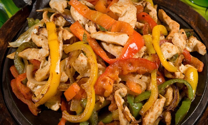Tequila Coast - Central City: Fajitas for Two or Four for Dinner or $10 for $20 Worth of Mexican Cuisine for Dinner at Tequila Coast