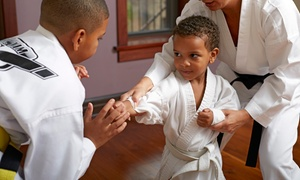 Herten Family Martial Arts: Four or Eight Weeks of Karate Lessons with Uniform at Herten Family Martial Arts (Up to 85% Off)