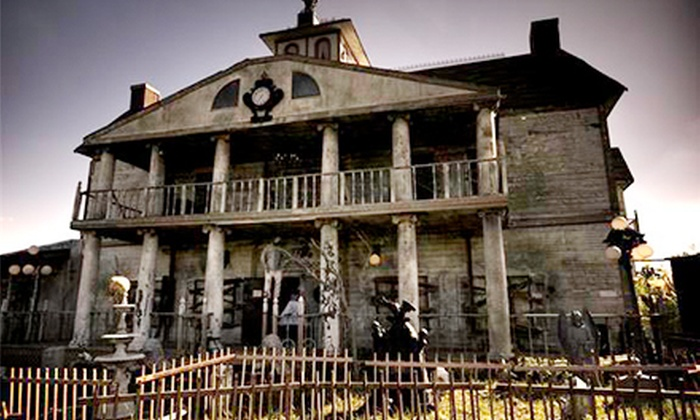 Thrillvania Haunted House Park - Terrell South: Admission for Two or Four to Thrillvania Haunted House Park (Up to $40 Off)