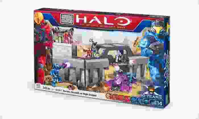 "Mega Bloks Halo Toy Building Set: $29 for a Mega Bloks ""Halo"" Versus: Assault on High Ground Toy Building Set ($49.99 List Price). Free Shipping."