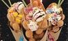 BBQ Streetfood Berlin - Berlin: 1x oder 2x knusprige Waffel mit Toppings nach Wahl inkl. Cappuccino bei BBQ Streetfood Berlin (bis zu 44% sparen*)