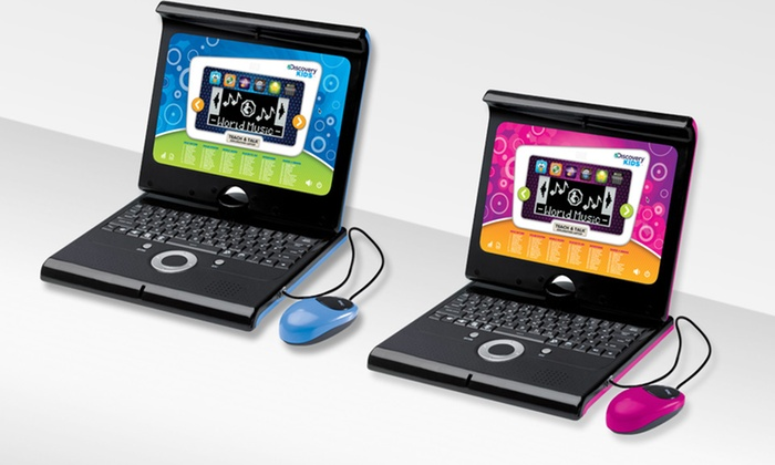 Discovery Kids Laptop Version 2.0: Discovery Kids Laptop Version 2.0 in Charcoal or Pink. Free Returns.