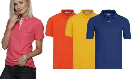 US Polo Assn Poloshirt für Damen oder Herren in der Farbe und Größe nach Wahl