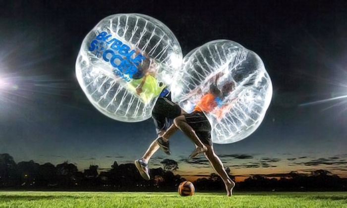SWFL Bubble Soccer - Multiple Locations: Two Bubble-Soccer Games for One or One Game for Two or Four at SWFL Bubble Soccer (Up to 51% Off)