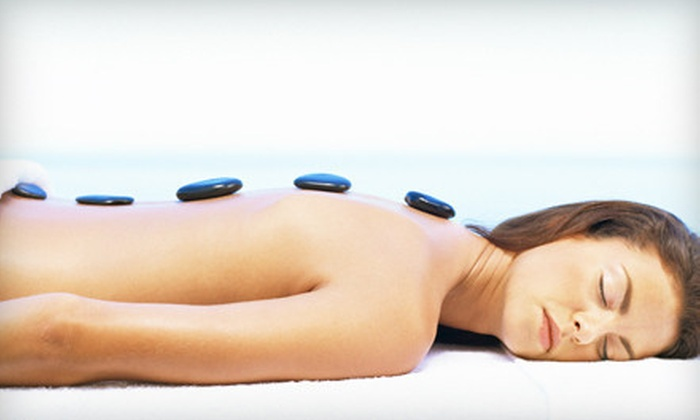 Pure Daily Bliss Day Spa - Norco: $49 for a Spa Package with 75-Minute Swedish Massage with Hot Stones, a Cucumber Back Scrub, and Complimentary Champagne at Pure Daily Bliss Day Spa ($99 Value)