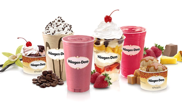 Haagen Dazs - East Massapequa: $15 for Three Groupons, Each Good for $9 Worth of Treats at Häagen-Dazs ($27 Total Value)