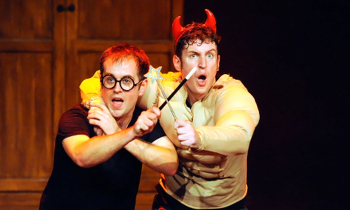 """""""Harry Potter"""" Parody - Downtown: """"Harry Potter"""" Parody """"Potted Potter"""" on May 25 or 26 (Up to 53% Off). Six Options Available."""