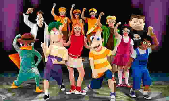 """Disney's Phineas and Ferb: The Best LIVE Tour Ever!"" - Downtown Kingston: ""Disney's Phineas and Ferb: The Best LIVE Tour Ever!"" at K-Rock Centre on Saturday, January 5 (Up to $28.10 Value)"
